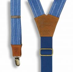 Wiseguy x Amsterdenim - Suspenders - MIKE - Sky Blue