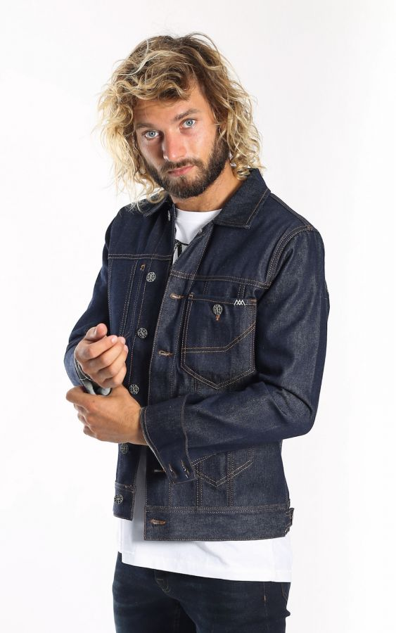 Amsterdenim - Jacket - FREDDY - Raw Candiani Denim
