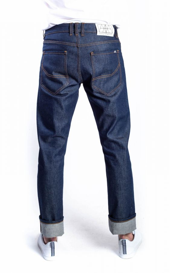 Amsterdenim - Jeans - REMBRANDT - Regular straight fit - Amsterdams Peil selvedge