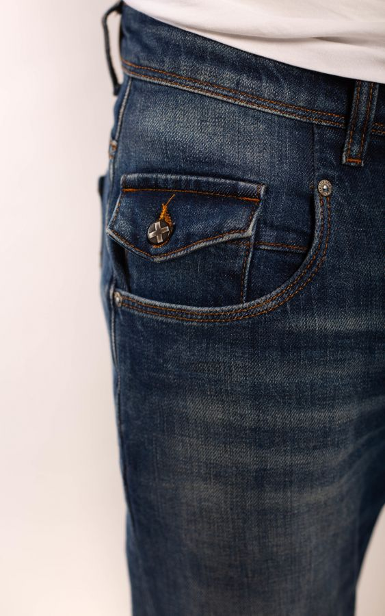 Amsterdenim - Jeans - JOHAN - Tapered slim fit - 5 Year Wash