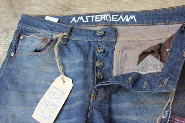 Amsterdenim - Selvedge Jeans - REMBRANDT - 5 Years Wash