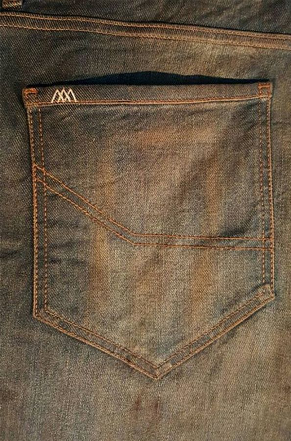 Amsterdenim - Jeans - REMBRANDT - Regular straight fit - Hand tanned selvedge