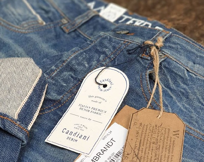 Amsterdenim REMBRANDT selvedge jeans made in Italy with Candiani Denim