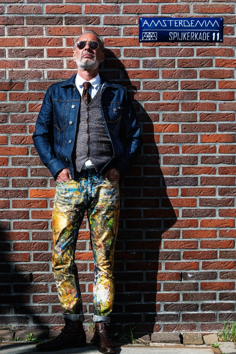 Steven Oprinsen by Peter Sabelis for Made in AMS - Ideas that Travel | www.amsterdenim.com